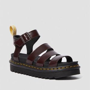 Doc Martens Vegan Blair's Sandals Cherry Red 8/9